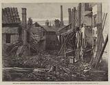 The Fatal Explosion at a Percussion-Cap Manufactory in Graham-Street, Birmingham, View of the Ruins