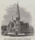 New Congregational Church at Harrogate