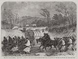 The Civil War in America, Unsuccessful Attempt of the Army of the Potomac to cross …