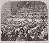 The Banquet to Lord Palmerston in the Music-Hall, Edinburgh