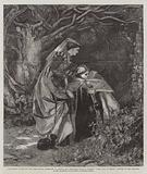 """""""Catherine Glover and the Glee Maiden attempting to succour the Imprisoned Duke of Rothsay"""" …"""
