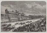 The Great International Horserace at Longchamps