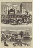 Funeral Procession of the late King of Bavaria at Nice