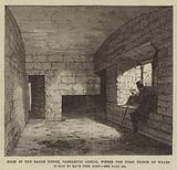 Room in the Eagle Tower, Carnarvon Castle, where the First Prince of Wales is said to have been born