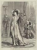 """Scene from """"Medea in Corinth,"""" at the Lyceum Theatre"""