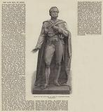 Statue of the late Earl of Derby in Parliament-Square, Westminster
