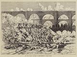 The War in Spain, Volunteers of Teruel repelling a Carlist Attack