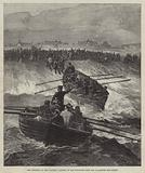 The Collision in the Channel, landing of the Survivors from the Avalanche and Forest