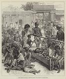 The Famine in India, Natives waiting for Relief at Bangalore