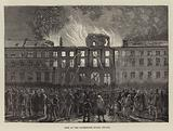 Fire at the Governor's House, Bruges