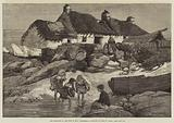 The Elections in the Isle of Man, Fishermen's Cottages at Port St Mary