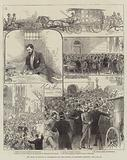 The Trial of Guiteau at Washington for the Murder of President Garfield