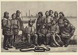 A Life-Boat Crew ready for Service