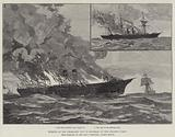 Burning of the Steam-Ship City of Montreal on the Atlantic Ocean