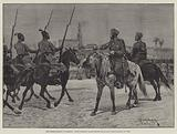 The British Mission to Morocco, Early Morning Parade before the Sultan, Kaid Maclean at Work