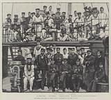 Officers and Crew of HMS Wasp, supposed to be lost at Sea