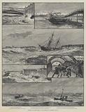 Effects of the Storm in the Mersey on Tuesday, 1 November