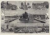 Views of Geneva, the Rhone, and the Alps of Savoy