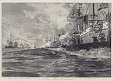 The Naval Manoeuvres, Action off the Isle of Man, 3 August