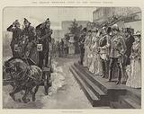 The German Emperor's Visit to the Crystal Palace