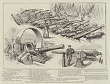 Royal Naval Exhibition, Ancient and Modern Guns, Crank-Shaft and Boiler-Shell