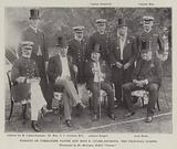 Wedding of Commander Napier and Miss E Culme-Seymour, the Principal Guests
