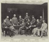 The Dreyfus Trial, Some Press Correspondents and Artists at Rennes