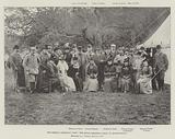 The German Emperor's Visit, the Royal Shooting Party at Sandringham