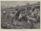 The Hospital Train leaving Ladysmith for Pietermaritzburg