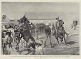 The Transvaal Crisis, Colonel Plumer's Corps of British South African Police at Bulawayo …