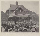 Lord Roberts' Visit to Pietermaritzburg on 4 December, the Commander-in-Chief leaving the Platform …