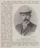 Mr H F Wilson, Secretary of the Orange River Colony