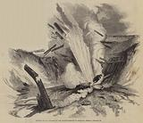 Blowing up of a Stockade on the Practice-Grounds at Brompton, Tuesday, 20 January