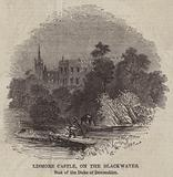 Lismore Castle, on the Blackwater, Seat of the Duke of Devonshire