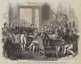 The Treaty of Vienna, 1815