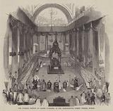 The Funeral Service of Daniel O'Connell in the Marlborough Street Church, Dublin
