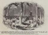 The Missionary, disregarding Varieties of Colour, declares to the Oppressed Blacks the Fact …