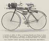 The Cyclist Corps' Bicycle, with Military Equipment