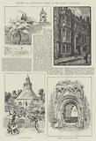 Sketches at Glastonbury, visited by the British Association