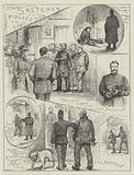 Sketches with the Police at the East End