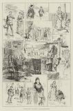 """Sketches from """"The Armada"""" at Drury-Lane Theatre"""