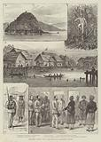 Sketches in Borneo, Visit of the British Naval Squadron to Brunei