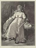 """Mrs Bernard-Beere in """"La Tosca,"""" at the Garrick Theatre"""
