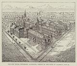 The New Royal Infirmary, Liverpool, opened by the Duke of Clarence, 29 October