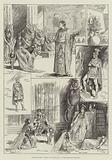 """Sketches from """"Antony and Cleopatra,"""" at the Princess's Theatre"""