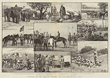 Sketches of the Camp of Exercise, held at Secunderabad, India