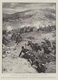 The Graeco-Turkish War, the Skirmish of Mont St Elias, at Nazaros, on the Macedonian Frontier