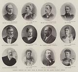 Colonial Premiers and their Wives in England for the Queen's Diamond Jubilee