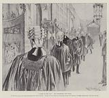"""""""Called to the Bar,"""" the Procession into Hall"""