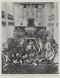 The Funeral of the late Prince Alfred of Saxe-Coburg-Gotha, Floral Tributes around the Bier …